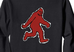 Original Bigfoot Stylized Custom Artwork by ThinkerThunker