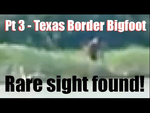 Bigfoot or Dogman on the Texas Border - Part 3 - Members Only