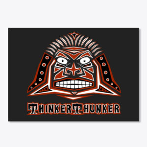 ThinkerThunker Avatar with Text