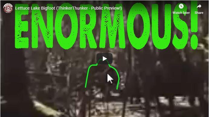 Lettuce Lake Bigfoot Video Thumbnail